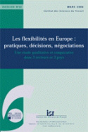 Les flexibilits en Europe : pratiques, dcisions, ngociations