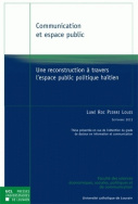 Communication et espace public