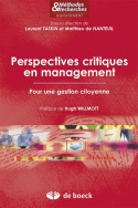 Perspectives critiques en management