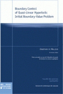Boundary Control of Quasi-Linear Hyperbolic Initial Boundary-Value Problem