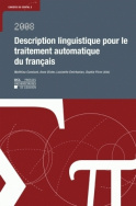 Description linguistique pour le traitement automatique du français