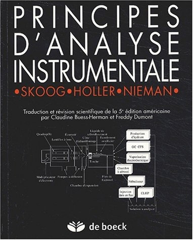 Principes d'analyse instrumentale