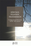 Héritage, filiation, transmission