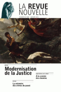 Modernisation de la justice