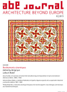 Abe journal, architecture beyond europe, 8|2015