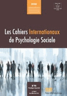 Les Cahiers Internationaux de Psychologie Sociale CIPS 94