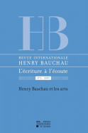 Revue internationale Henry Bauchau n°2 - 2009