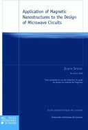 Application of Magnetic Nanostructures to the Design of Microwave Circuits