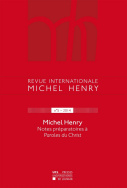 Revue internationale Michel Henry n°5 - 2015
