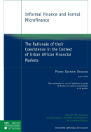 Informal Finance and Formal Microfinance