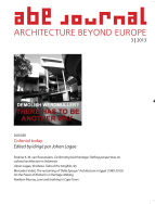 ABE Journal - Architecture Beyond Europe - n°3/2013