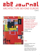 ABE Journal - Architecture Beyond Europe - n°1/2012