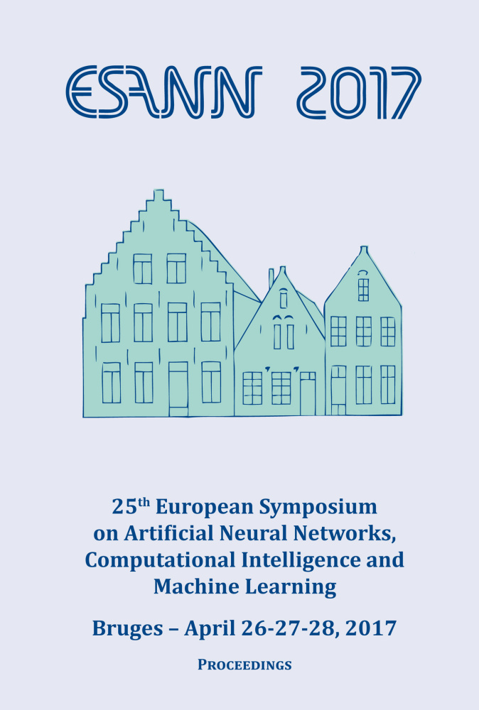 ESANN 2017 - Proceedings