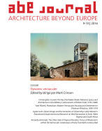 ABE Journal - Architecture Beyond Europe - n°9-10/2016