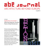 ABE Journal - Architecture Beyond Europe - n°5/2014
