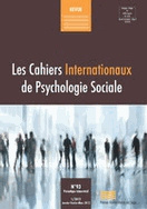Les Cahiers Internationaux de Psychologie Sociale CIPS 93