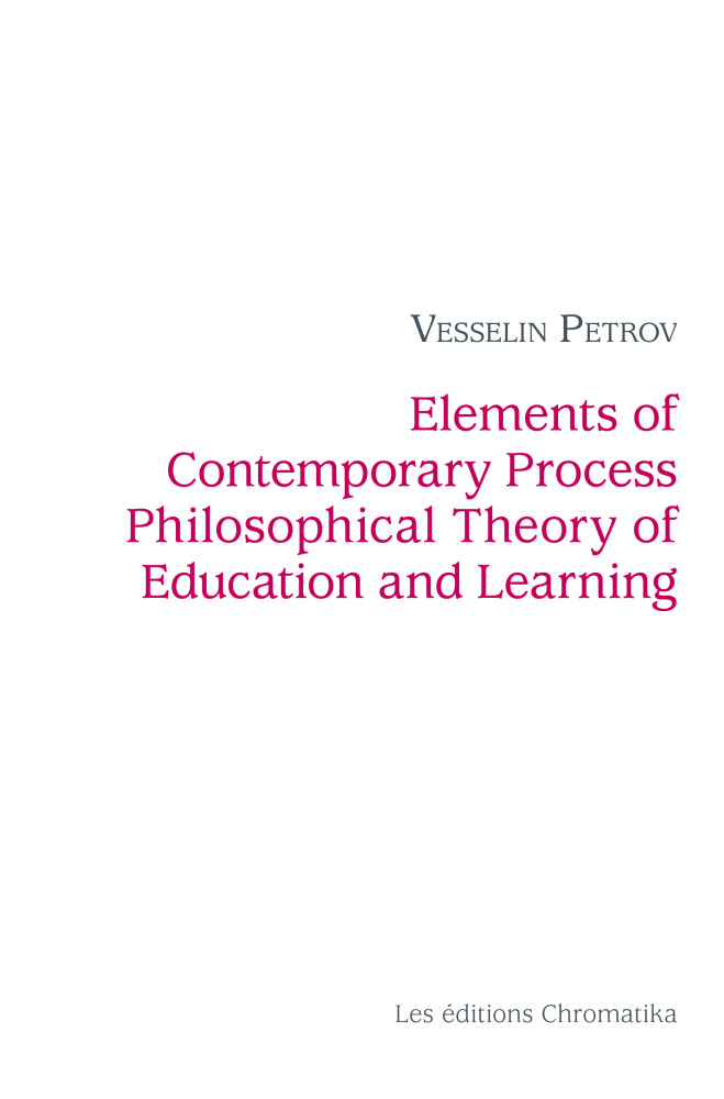 Elements of Contemporary Process Philosophical Theory of Education and Learning