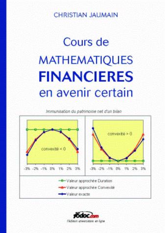 Cours De Mathematiques Financieres En Avenir Certain I6doc