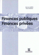 Finances publiques. Finances privées.