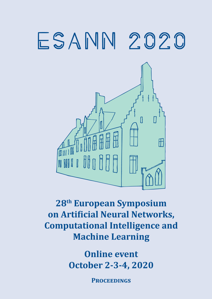 ESANN 2020 - Proceedings