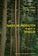 Tables de production relatives au douglas (Pseudotsuga menziesii)