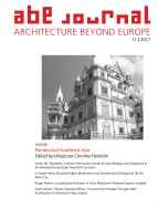 ABE Journal - Architecture Beyond Europe - n°11/2017