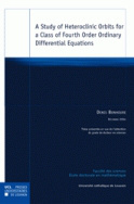 A Study of heteroclinic orbits for a class of fourth order ordinary differential equations