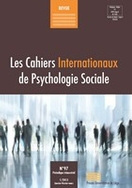 Les Cahiers Internationaux de Psychologie Sociale CIPS 97