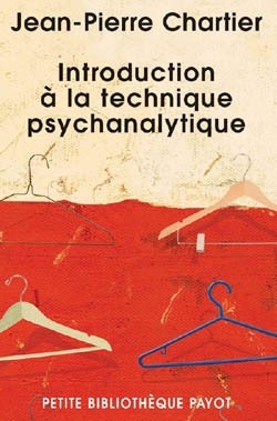 Introduction à la technique psychanalytique
