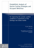 Probabilistic Analysis of Passive Cooling Strategies and Occupant Behaviour
