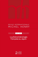 Revue internationale Michel Henry n°6-2015