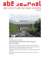 ABE Journal - Architecture Beyond Europe - n°13/2018