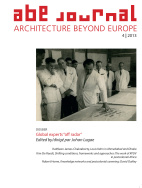 ABE Journal - Architecture Beyond Europe - n°4/2013