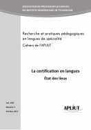 La certification en langues