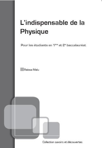 L'indispensable de la Physique