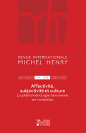 Revue internationale Michel Henry n°9 – 2018